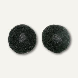 WMC Ohrpolster für Kopfhörer Deluxe, schwarz/grau, 2 Stück, 24211