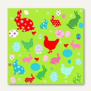 Artikelbild: Dekorservietten Easter Meadow
