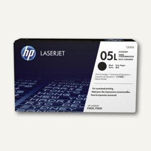 HP Tonerkartusche 05L, 1.000 Seiten, schwarz, CE505L