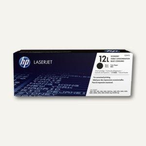 HP Toner Nr. 12L, schwarz, ca. 1.000 Seiten, Q2612L