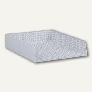 Rössler GREY / CORNER Ablagekorb für DIN A4, Karton, 3er Pack, 13351157000