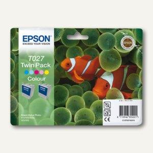 Tintenpatrone COLOR T027 (Fisch)