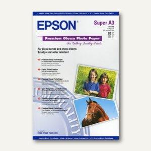"""Epson Fotopapier """"Premium Glossy"""", DIN A3+, 250 g/m², 20 Blatt, C13S041316"""