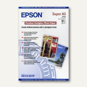 "Epson Fotopapier ""Premium Semigloss"", DIN A3+, 250 g/m², 20 Blatt, C13S041328"