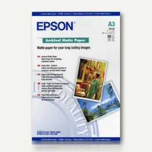 Epson Archival Matte Paper, DIN A3, matt, 192 g/m², 50 Blatt, C13S041344