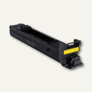 Konica Minolta Toner MC4650, ca. 4.000 Seiten, gelb, A0DK251