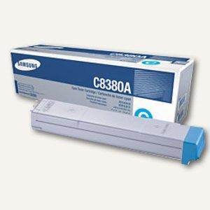 Samsung Lasertoner CLX-C8380A, ca. 15.000 Seiten, cyan, CLX-C8380A/ELS