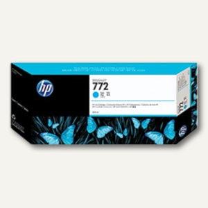 HP Tintenpatronen Nr. 772, 300 ml, cyan, CN636A
