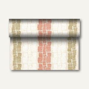 """Tischläufer """"Steam"""" auf Rolle, PV-Tissue, 24m x 40cm, nektarine, 4 Stück, 84988"""
