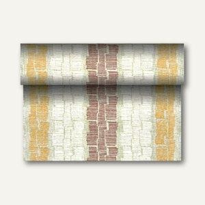 """Tischläufer """"Steam"""" auf Rolle, PV-Tissue, 24m x 40cm, braun, 4 Stück, 84990"""