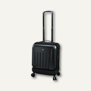 JSA Reise- und Businesstrolley, Laptopfach 15'', schwarz matt, 45564