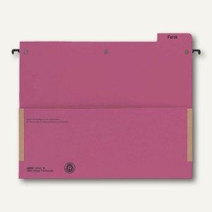LEITZ Hänge-Fehltasche Serie 18, 250/265 x 318 mm, 320g/m², rot, 1829-00-25