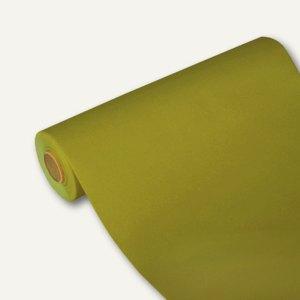"""Tischläufer """"ROYAL"""" auf Rolle, PV-Tissue, 24m x 40cm, olivgrün, 4 Stück, 84966"""