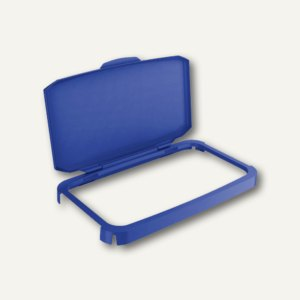 Durable Klappdeckel DURABIN Lid 60, blau, 1800500040