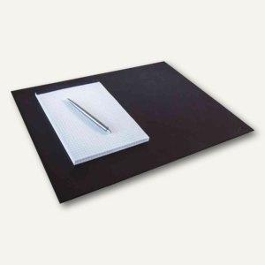 Durable Schreibunterlage, Leder, 42 x 30 cm, schwarz, 730401