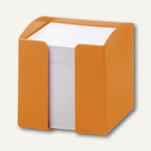 Durable Zettelkasten TREND, 10 x 10.5 x 10 cm, opak-orange, 6 Stück, 1701682909