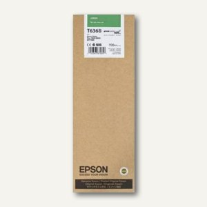 Tintenpatrone Singlepack UltraChrome HDR T636B00