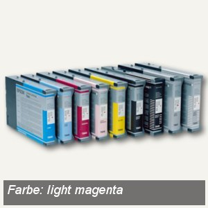 Epson Tintenpatrone Singlepack T605C00, 110 ml, light magenta, C13T605C00