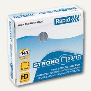 Rapid Heftklammern supreme, 23/17, verzinkt, 1.000 Stück, 20599804