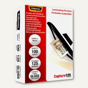 Laminierfolientasche, Kreditkartenformat, 54x86 mm, 250mic, 100St., 5306302