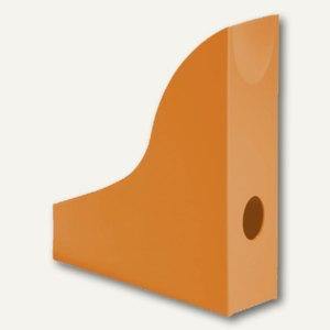 Durable Stehsammler BASIC, DIN A4, mit Griffloch, opak-orange, 6St., 1701711909