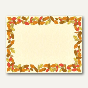 "Papstar Tischsets ""Autumnal"", Airlaid, 30 x 40 cm, 600er-Pack, 84493"