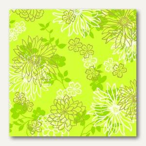 """Servietten """"Tessa"""", stoffähnlich, 1/4-Falz, 40x40 cm, grün, 400 St., 10885"""