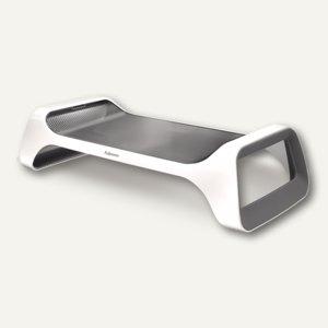 Monitorständer I-Spire, Tragkraft 5.5kg, 50.5x22x12.5cm, weiß/grau, 9311102