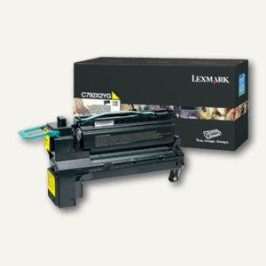 Lexmark Lasertoner-/Druckkassette C792, 20.000 Seiten, gelb, C792X2YG