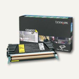 Lexmark Rückgabe-Tonerkassette C534, ca. 7.000 Seiten, gelb, C5340YX
