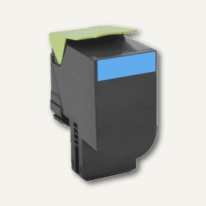 Lexmark Rückgabe-Tonerkassette 702XC, ca. 4.000 Seiten, cyan, 70C2XC0