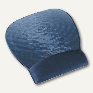3M Handgelenkauflage Mousepad, Gel gefüllt, 22 x 23 cm, blau, MW311BE
