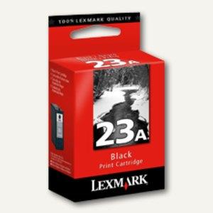 Lexmark Tintenpatrone Nr. 23A, ca. 215 Seiten, schwarz, 18C1623E