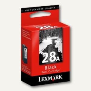 Lexmark Tintenpatrone Nr. 28A, ca. 175 Seiten, schwarz, 18C1528E