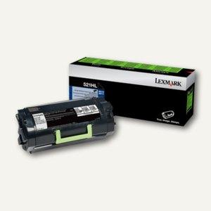 Lexmark Tonerkassette 520HAL, ca. 25.000 Seiten, schwarz, 52D0HAL