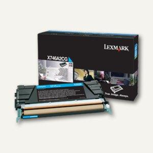 Lexmark Tonerkassette X746, X748, ca. 7.000 Seiten, cyan, X746A2CG