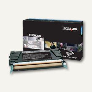 Lexmark Tonerkassette X746, X748, ca. 12.000 Seiten, schwarz, X746H2KG