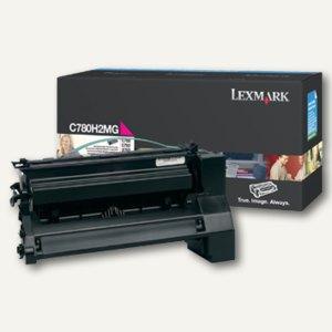 Lexmark Tonerkassette C780, C782, X782, ca. 10.000 Seiten, magenta, C780H2MG