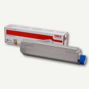 OKI Lasertoner, ca. 10.000 Seiten, gelb, 44059253