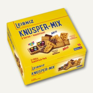 """Leibniz Gebäckmischung """"Knusper Mix"""", 2 x 500 g, 36930"""