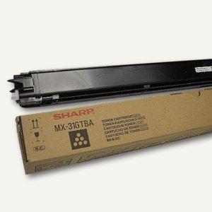 Sharp Toner, ca. 18.000 Seiten, schwarz, MX31GTBA