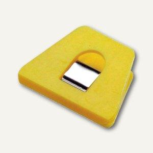Briefklemmer SIGNAL 2, 70 x 50 mm, 13 mm Klemmweite, gelb, 100er Pack, 1120-70