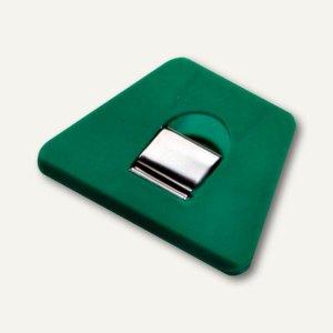 Briefklemmer SIGNAL 2, 70 x 50 mm, 13 mm Klemmweite, grün, 100er Pack, 1120-60