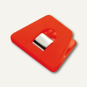Briefklemmer SIGNAL 2, 70 x 50 mm, 13 mm Klemmweite, orange, 100er Pack, 1120-50