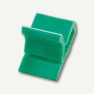 Kunststoff-Briefklemme Zacko 2, für 2-20 Blatt, 12x18 mm, grün, 1000St., 2851-60