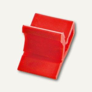 Kunststoff-Briefklemme Zacko 2, für 2-20 Blatt, 12x18 mm, rot, 1000St., 2851-20