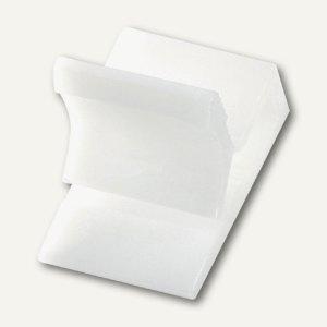 Kunststoff-Briefklemme Zacko 2, für 2-20 Blatt, 12x18 mm, weiß, 120St., 2855-10