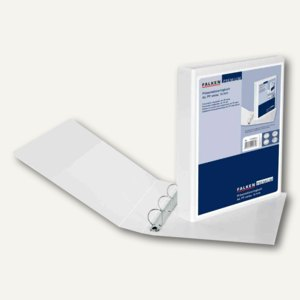 Falken Präsentations-Ringbuch Creative, DIN A4, 4D-Ringe 35 mm, weiß, 11298619