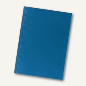 Falken Aktendeckel, DIN A4, (B)230 x (H)318 mm, Manila-RC-Karton, blau, 80004120