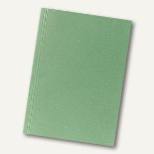 Falken Aktendeckel, DIN A4, (B)230 x (H)318 mm, Manila-RC-Karton, grün, 80001167